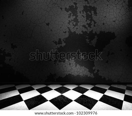 Dark Old Room Background