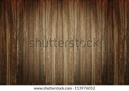 Dark old wood background