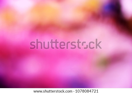 dark pink color abstract bacground withe blurred defocus bokeh light for template #1078084721