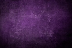 Dark purple wall grungy background or texture