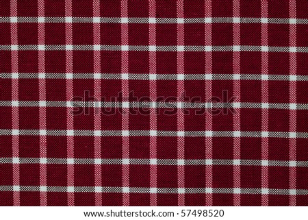 dark red and white checkered pattern fabric