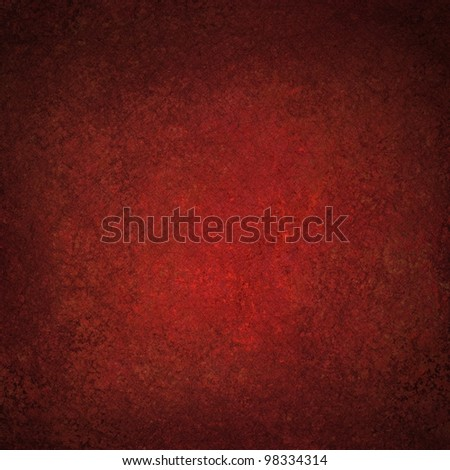 dark red background of abstract vintage grunge background texture old red paper with soft distressed painted Christmas background art or faded Valentine's day card or web template background design