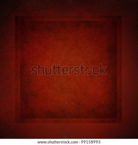 dark red background with vintage parchment and grunge textured frame and elegant border with black vignette burnt edges on layout design with copy space for Christmas ad