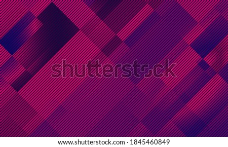Dark red block abstract background with oblique stripes texture. Dark red block with stripes for modern business theme. stock photo
