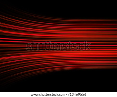Dark red color Light Abstract Technology background for computer graphic website internet and business. move motion blur. curve #713469556