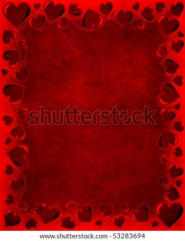Dark red velvet stylized Valentines day background with heart shaped ornament