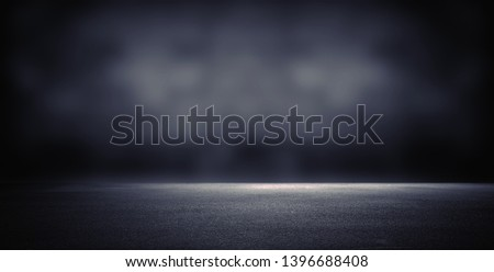 Dark room with light background. #1396688408