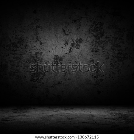 Dark room with tile floor and wall background