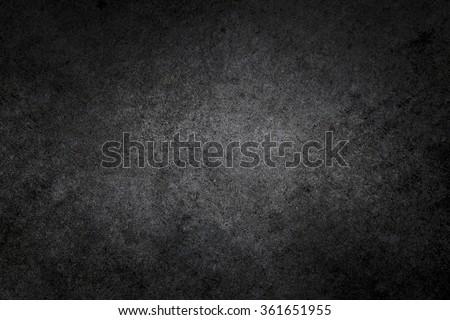 Dark rough textured black concrete photo background #361651955