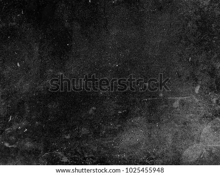 Dark scratched grunge background, old film effect, space for your text or picture #1025455948