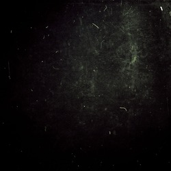 Dark scratched grunge vintage background, old film effect, dusty texture, copy space