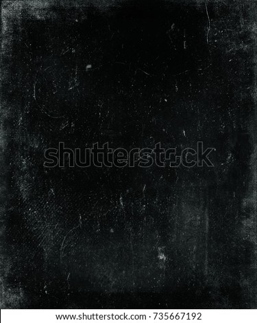 Dark scratched obsolete grunge background. Horror distressed background perfect for halloween concept.