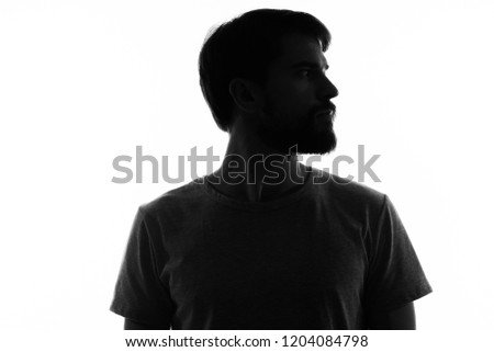 dark silhouette on light background                              #1204084798