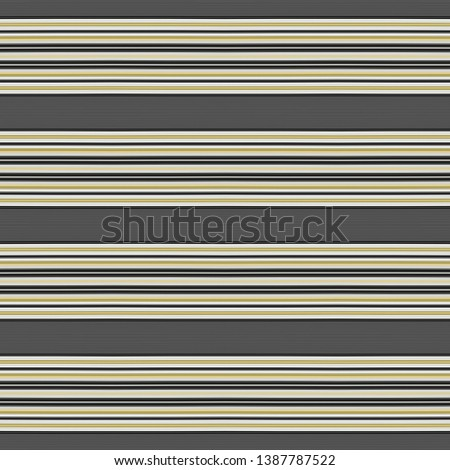 dark slate gray, pastel gray and gray gray colored lines in a row. repeating horizontal pattern. for fashion garment, wrapping paper, wallpaper or online web design.
