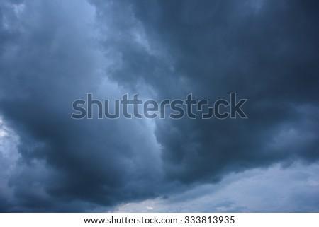 Dark storm clouds #333813935