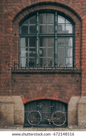 Free Photos Dark Vintage Clean Brick Factory Wall With Rounded