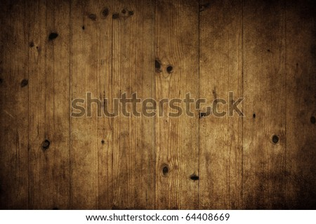 dark vintage old wood texture - stock photo