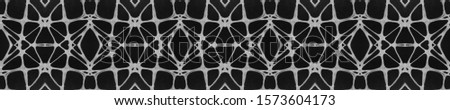 Dark Vintage Repeat Pattern Tile. Ornamental Geometry. Ornamental Geometry. Black Silver Dressing element Indian Tribal Art. Bright Kaleidoscope Art. Floral Elements Floral Elements