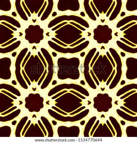 Dark Vintage Repeat Pattern Tile. Ornamental Geometry. Ornamental Geometry. Golden Black Embroidery print Asian Ornament. Glamure Kaleidoscope Art. Floral Design. Floral Elements