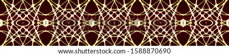 Dark Vintage Repeat Pattern Tile. Ornate Tile Background Ornate Tile Background Black Tile Embroidery net. Asian Ornament. Luxury Kaleidoscope Art. Floral Elements Floral Design.