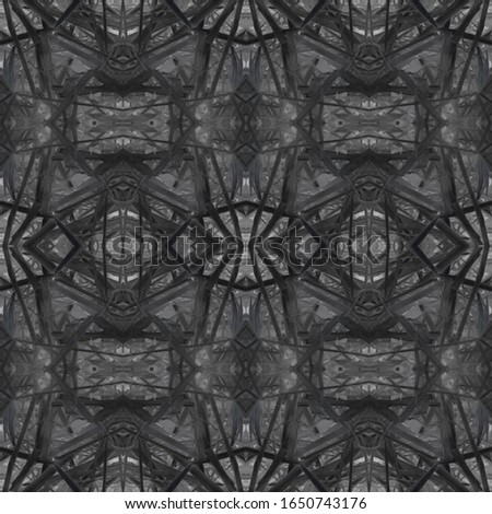 Dark Vintage Repeat Pattern Tile. Ornate Tile Background Ornate Tile Background Black Tile Dressing element Old fashion Design. Golden Kaleidoscope Art. Floral Elements Floral Design.