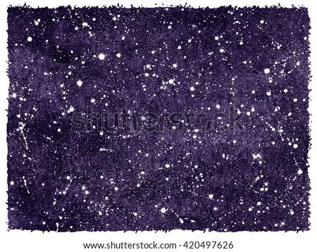 dark violet or blueberry hand...