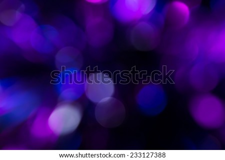 Dark violet theme bokeh