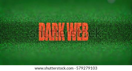 dark web matrix background