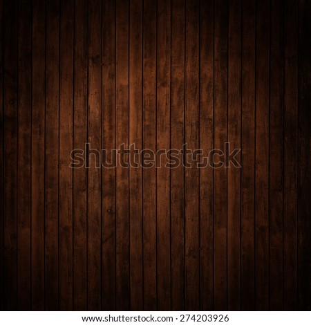 dark wood panels.