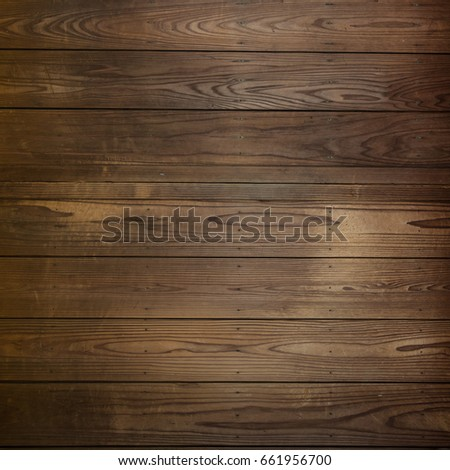 Dark wood plank use for background #661956700