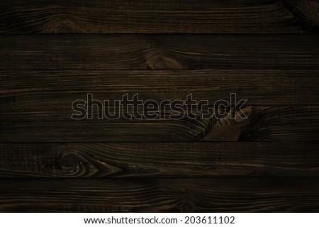 dark wood texture, black background #203611102