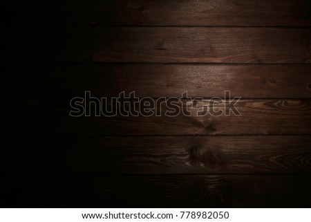 Dark wooden backdrop #778982050