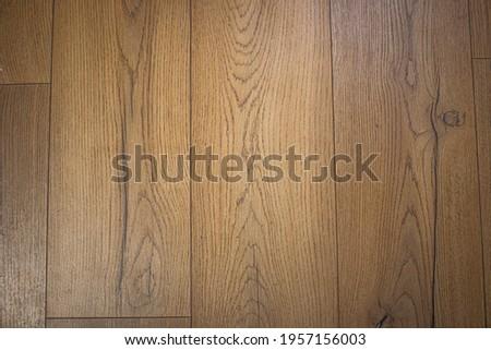 Dark wooden flooring texture cheap wooden floorboards top down, looking down at wooden floorboards wood floor background Stock photo ©
