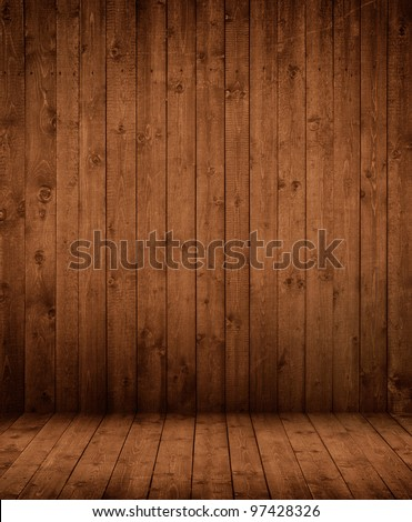 dark wooden interior