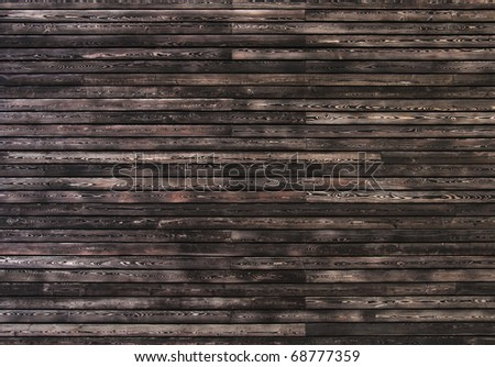 Dark wooden wall, perfect as texture or background