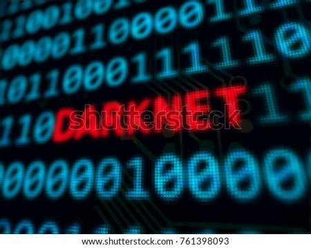 darknet red text between blue...