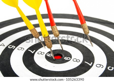 Dart - stock photo