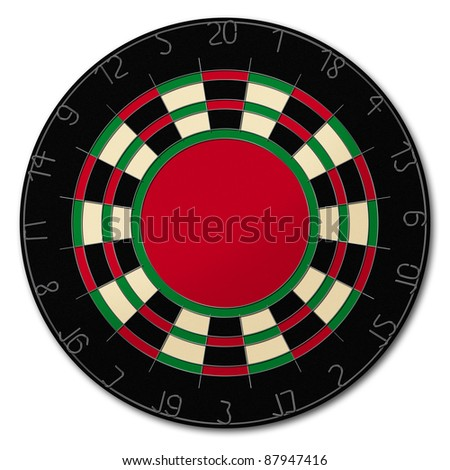 Dartboard for more strikes