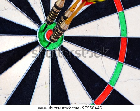 Dartboard wide