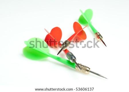 Darts - stock photo