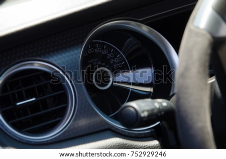 Popular Free Dashboard Speed Indicator In Car On Black Background - Car image sign of dashboardcar dashboard icons stock photospictures royalty free car