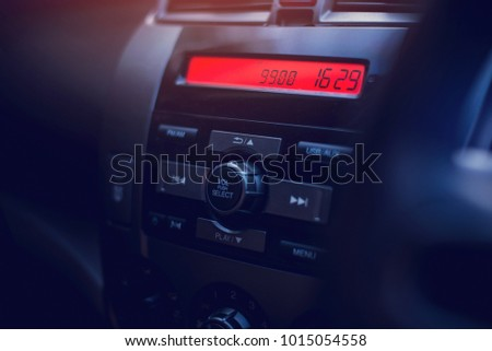 Dashboard for play music in car