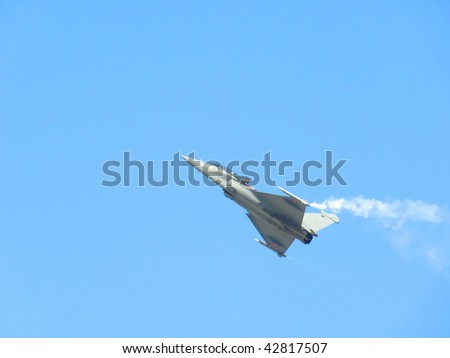 Dassault Rafale Fighter Jet is a French twin-engined delta-wing highly agile multi-role 4.5th-generation jet fighter aircraft.