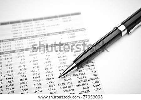 data analyzing in stock market: on the quotes prints, and a pen