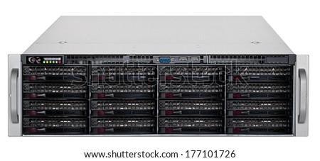 Data center - server  Foto stock ©