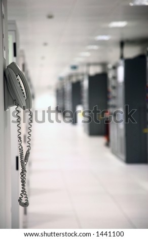 Data Center (shallow DOF)