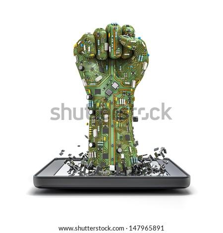 Data fist tablet