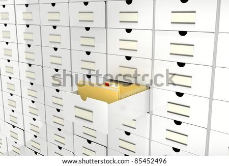 data folders in database