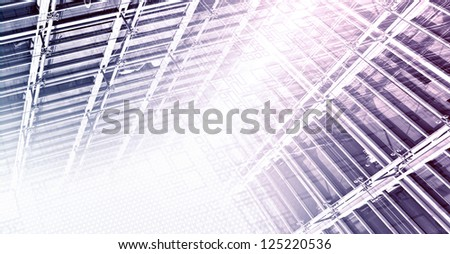 Data Infrastructure - stock photo