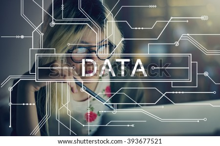Data Online Technology Internet Circuit Board Concept